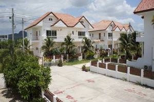Townhouse for rent and for sale in Tropcal Vision. Hua Hin, Thailand
